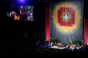 Dalai Lama public talk