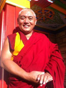 Tibetan Monk - Geshe Rapgyal
