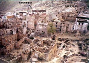 drepung monastery ruins