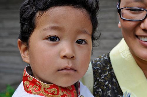 young tibetan boy