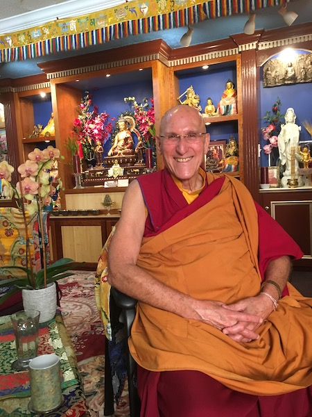 Dr. Barry Kerzin, Personal physician to the 14th Dalai Lama.