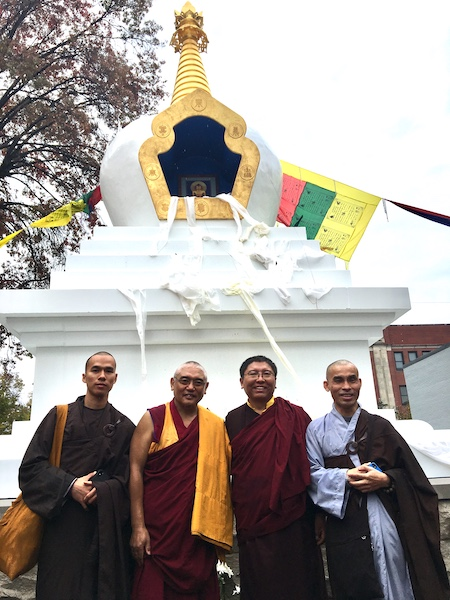 Blessing of The Tibetan Stupa - Spalding University Campus, Louisville