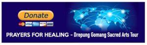 Prayer For Healing - Sacred Arts Tour - Donate
